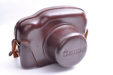 Canon Camera Leather Case for Canon P From Japan Very Good Condition