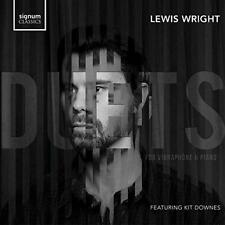 Lewis Wright Kit Downes - Piano And Vibraphone Duets (NEW CD)