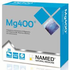 Named MG 400 Magnesio Vitamina B6 Vitamina PP Biotina 20 bustine