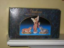 "Roman Fontanini Nativity ANGEL & ANIMALS 6 1/4"" scale Millennium Ed in Box NEW"