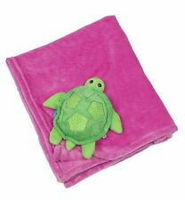 Zoocchini Buddy Blanket - Turtle | Turtle Blanket for Prams and Pushchairs