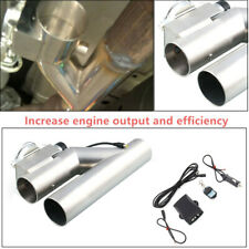 """Durable  Exhaust Control E-Cut Out 3""""inch Valve Electric Y Pipe with Remote Kit"""