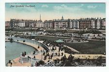 New Gardens Southport Lancashire Pre 1914 Philco 2110 Old Postcard