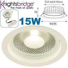 15 W COB LED Retraído Cielorraso oficina regulable tienda comercial Downlight Luz 840