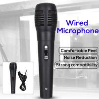 Wired Dynamic Microphone Handheld Mic For Karaoke Singing DJ BK Audio Vocal USA