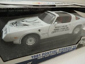 PONTIAC TRANS AM TURBO T/A PACE CAR 1:18 DIE CAST MODEL NEW IN BOX LIMITED ED.