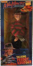 "VINTAGE 1989 MATCHBOX A NIGHTMARE ON ELM STREET TALKING FREDDY KRUEGER DOLL 18"""