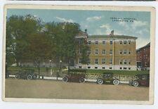 General Hospital, Old Cars in LANCASTER PA Vintage Pennsylvania Postcard