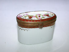 1773 Porcelain Trinket Box Crossed Arrows Mark From St. Antoine Faubourg, Paris