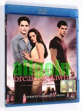 Blu-Ray BREAKING DAWN PART 1 THE TWILIGHT SAGA Eagle Pictures 2011 USATO