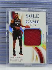 2019-20 Immaculate John Wall Sole of the Game Used Sneaker Relic #24/25 T21