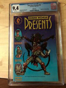 Dark Horse Presents #36 (1990 Dark Horse) CGC 9.4 1st app Aliens vs. Predator