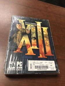 Video Game PC Thirteen XIII NEW SEALED