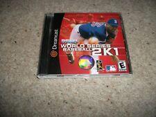 SEGA SPORTS - WORLD SERIES BASEBALL 2K1 - Sega Dreamcast (NTSC/U) Rare, NEW (US)