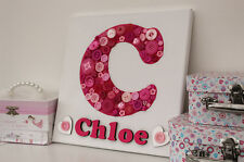 Kids 'make your own' button canvas craft kit - pink