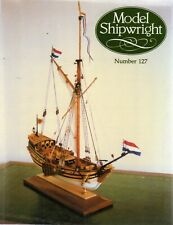Model Shipwright No 127  (Conway 2004 1st) with Modellers Draught plan