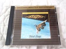 BOSTON THIRD STAGE MFSL CD TOM SCHOLZ 80'S HARD ROCK CLASSIC ULTRADISC II