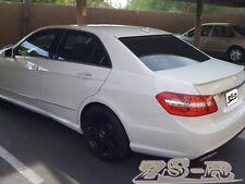 10-13 W212 E250 E350 E550 Sedan Painted E63AMG Look Trunk Spoiler + OE Roof Lip