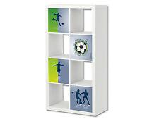 Fußball Möbelsticker Aufkleber passend für das EXPEDIT / KALLAX von IKEA -ER04