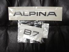 BMW G12 B7 Alpina Genuine Trunk Emblems,Decals,Badge Set NEW 2016-up