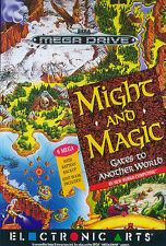 # SEGA MEGA DRIVE-Might and Magic: GATES to Another World/MD gioco #
