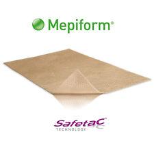"Molnlycke Mepiform Dressing Scar Silicone Sheet Pads, 4"" x 7"" - Box of 5"
