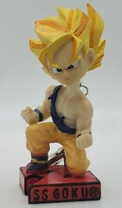"Dragonball Z ""SS GOKU"" Bob-A-Longs Collectible Mini Hero Clip-On Bobblehead"