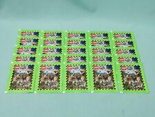 Blue Ocean Lego Jurassic World Sticker 25 Tüten / 125 Sticker