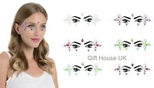 Face Gem Eye Jewels Glitter Stickers Tattoo Rhinestone Christmas Party Make Up