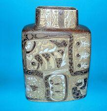 Royal Copenhagen pottery vase ' Fajance '  By Nils Thorsson  1st quality (7396)