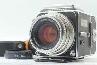 【N MINT++】   HASSELBLAD 500 CM Planar chrome 80mm F/2.8 A12 II from JAPAN #538