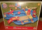 American Plastic Toys Sand and Water Play Table Kids Imaginative Outdoor Playset