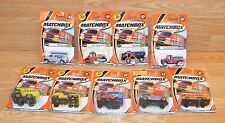 Lot of 9 Genuine Matchbox Numbered Service Trucks / Vans / Vehicles **NEW-READ**