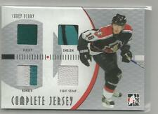 2005-06 ITG Heroes Prospects Complete Jersey Corey Perry 10 made CJ-15 London