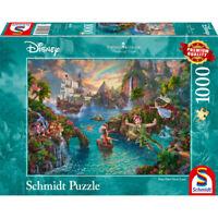 Schmidt Spiele Puzzle Disney Peter Pan Thomas Kinkade Erwachsenenpuzzle 1000 T.