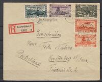 H3449/ SAAR – MI # 182 + 186 + 189 + 192 + 196 ON COVER