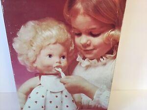 "Vintage 1976 KENNER New Look Baby Alive Pre-loved ""DOES NOT WORK"" Diapers Bib"