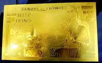 """★★★ BILLET 3D POLYMER """" OR """" DU 1000 FRANCS DEESSE DEMETER ● DESTOCKAGE ★★ R.6"""