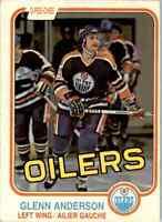 1981-82 O-Pee-Chee Glenn Anderson Rookie Edmonton Oilers #108