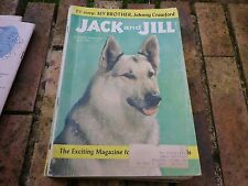 JACK and JILL JULY 1960 USA VERY GOOD, BON ETAT, WITH PUZZLE CENTRAL GAME