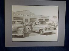 DON GREYTAK LTD EDITION ART PRINT - TRADING UP at DENTUM CHEVY - MATTED - SIGNED