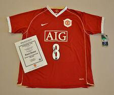 Wayne Rooney Signed Manchester United 06/07 #8 Home Shirt Autograph Man Utd COA