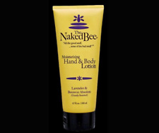 The Naked Bee Lavender & Beeswax Moisturizing Hand Body Lotion 6.7 oz Big Tube