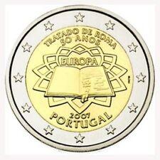"PORTUGAL SPECIALE 2 EURO 2007 UNC: ""VERDRAG VAN ROME"""