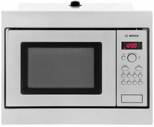 BOSCH HMT75M551B Built-in Integrated Microwave - Stainless Steel