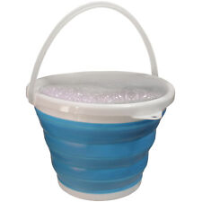 10L Collapsible Bucket Silicone Folding Bucket Water Carrier Kitchen Camping