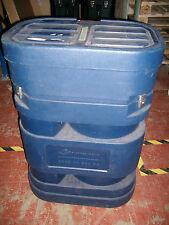 Large Blue Flight Case  H - 97cm  L - 67cm  W - 45cm