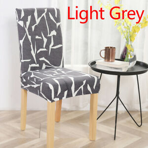 Universal Elastic Seat Cover Slipcovers Spandex Geometric Chair Covers Removable