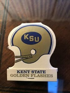 1977 Kent State Golden Flashes College Football Full Matchbook Schedule MINT