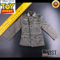 """1:6 scale WW2 German Jacket Defence uniform Coat Clothes Set F 12""""Soldier Figure"""